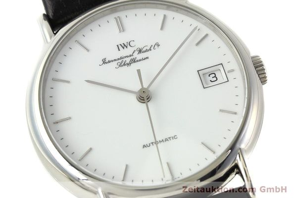 Used luxury watch IWC Portofino steel automatic Kal. 37521 Ref. 3513  | 142296 02