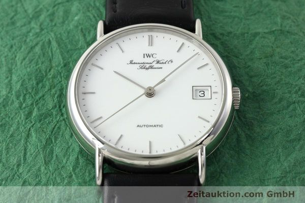 Used luxury watch IWC Portofino steel automatic Kal. 37521 Ref. 3513  | 142296 16