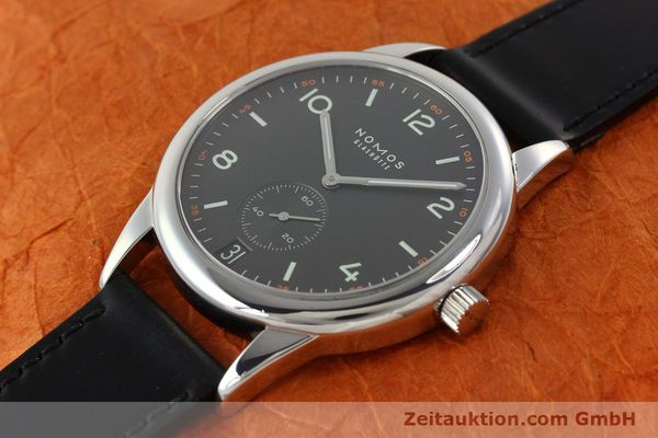 Used luxury watch Nomos Club steel automatic Kal. Zeta 5333  | 142298 01