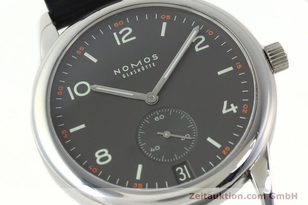 Used luxury watch Nomos Club steel automatic Kal. Zeta 5333  | 142298 02