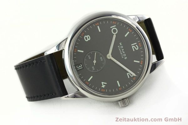 Used luxury watch Nomos Club steel automatic Kal. Zeta 5333  | 142298 03