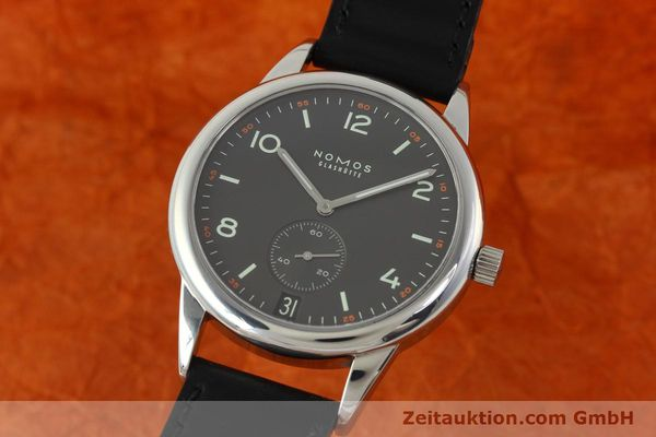 Used luxury watch Nomos Club steel automatic Kal. Zeta 5333  | 142298 04