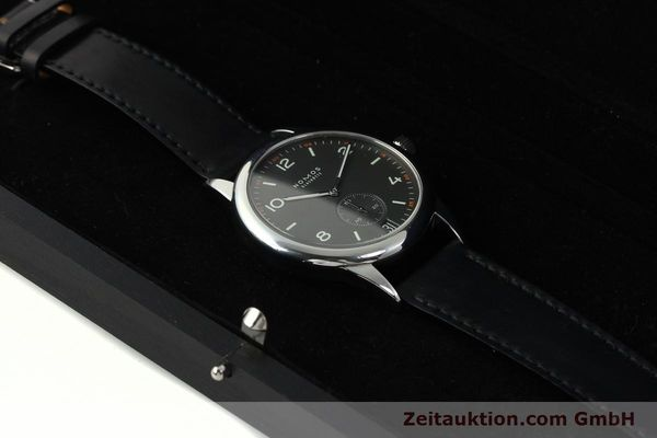 Used luxury watch Nomos Club steel automatic Kal. Zeta 5333  | 142298 07