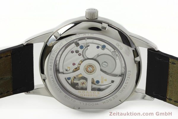 Used luxury watch Nomos Club steel automatic Kal. Zeta 5333  | 142298 09