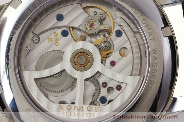 Used luxury watch Nomos Club steel automatic Kal. Zeta 5333  | 142298 10