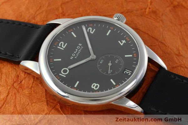 Used luxury watch Nomos Club steel automatic Kal. Zeta 5333  | 142298 15