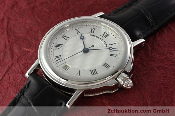 Used luxury watch Breguet Marine platinium automatic Kal. 889/1 Ref. PT 3400  | 142302 01