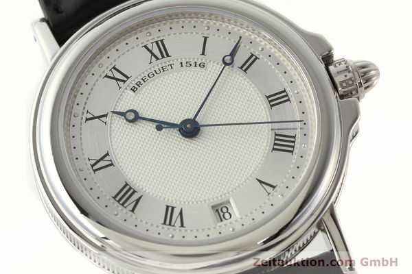 Used luxury watch Breguet Marine platinium automatic Kal. 889/1 Ref. PT 3400  | 142302 02