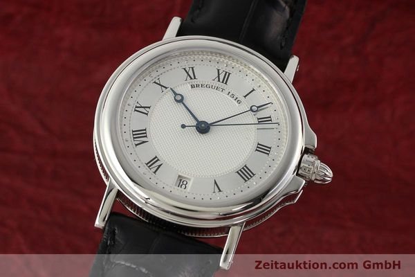 Used luxury watch Breguet Marine platinium automatic Kal. 889/1 Ref. PT 3400  | 142302 04