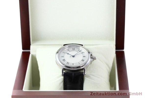 Used luxury watch Breguet Marine platinium automatic Kal. 889/1 Ref. PT 3400  | 142302 07