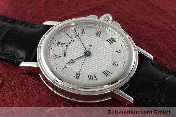 Used luxury watch Breguet Marine platinium automatic Kal. 889/1 Ref. PT 3400  | 142302 14