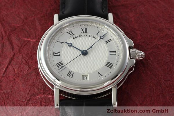 Used luxury watch Breguet Marine platinium automatic Kal. 889/1 Ref. PT 3400  | 142302 15