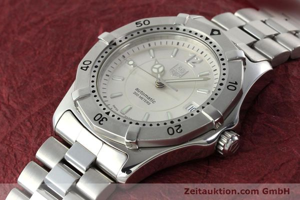 Used luxury watch Tag Heuer Aquaracer steel automatic Kal. ETA 2824-2 Ref. WK 2116-0  | 142306 01