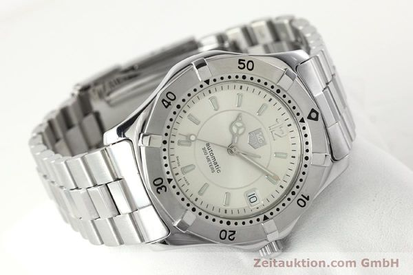 Used luxury watch Tag Heuer Aquaracer steel automatic Kal. ETA 2824-2 Ref. WK 2116-0  | 142306 03