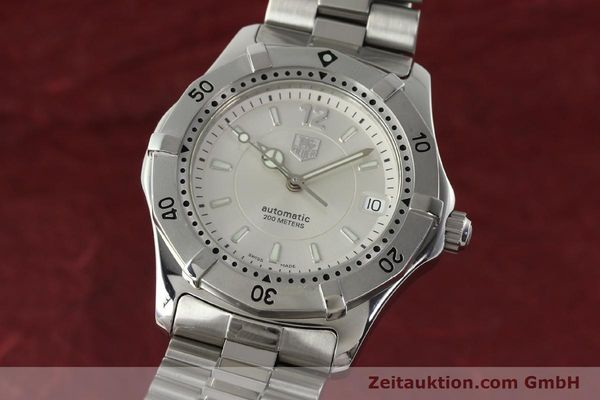 Used luxury watch Tag Heuer Aquaracer steel automatic Kal. ETA 2824-2 Ref. WK 2116-0  | 142306 04