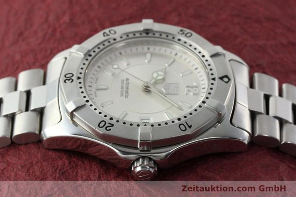 Used luxury watch Tag Heuer Aquaracer steel automatic Kal. ETA 2824-2 Ref. WK 2116-0  | 142306 05
