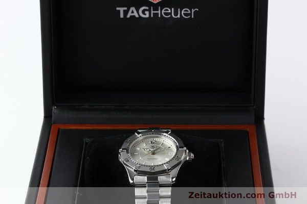 Used luxury watch Tag Heuer Aquaracer steel automatic Kal. ETA 2824-2 Ref. WK 2116-0  | 142306 07