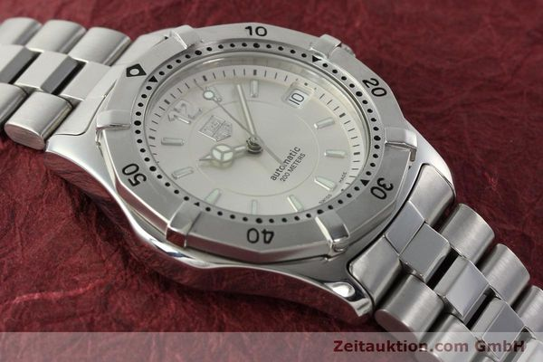 Used luxury watch Tag Heuer Aquaracer steel automatic Kal. ETA 2824-2 Ref. WK 2116-0  | 142306 15