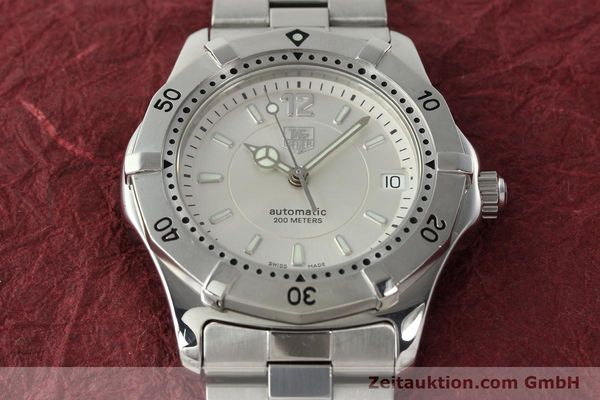Used luxury watch Tag Heuer Aquaracer steel automatic Kal. ETA 2824-2 Ref. WK 2116-0  | 142306 16