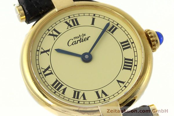 Used luxury watch Cartier Vermeil silver-gilt quartz Kal. 90  | 142308 02