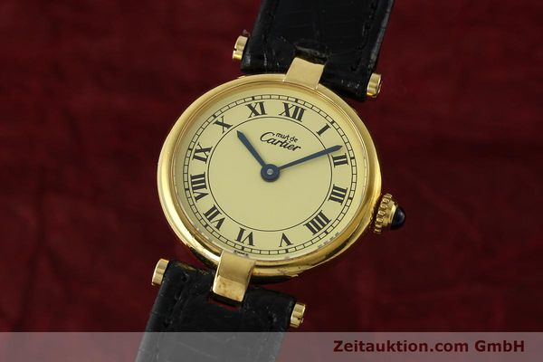 Used luxury watch Cartier Vermeil silver-gilt quartz Kal. 90  | 142308 04