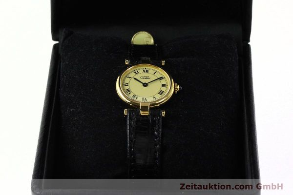 Used luxury watch Cartier Vermeil silver-gilt quartz Kal. 90  | 142308 07