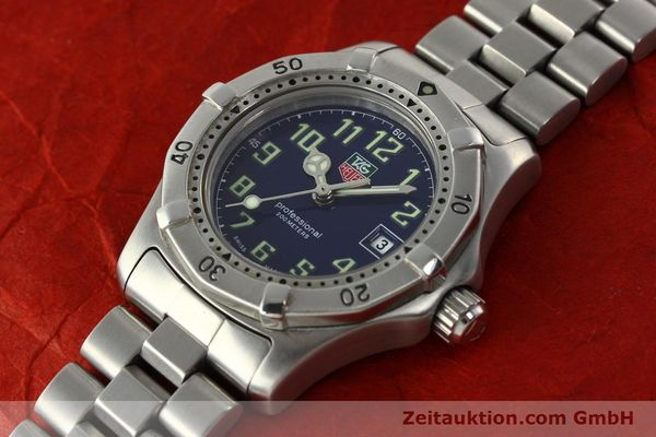 Used luxury watch Tag Heuer Professional steel quartz Kal. ETA 956.112 Ref. WM1313  | 142310 01