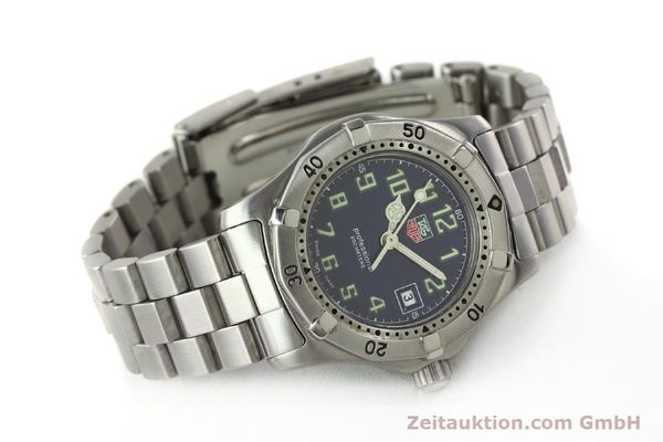 Used luxury watch Tag Heuer Professional steel quartz Kal. ETA 956.112 Ref. WM1313  | 142310 03