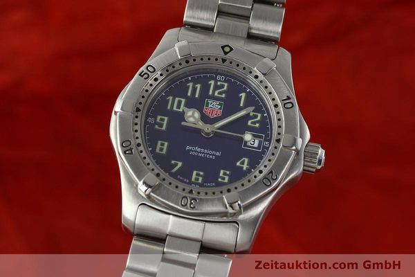 Used luxury watch Tag Heuer Professional steel quartz Kal. ETA 956.112 Ref. WM1313  | 142310 04