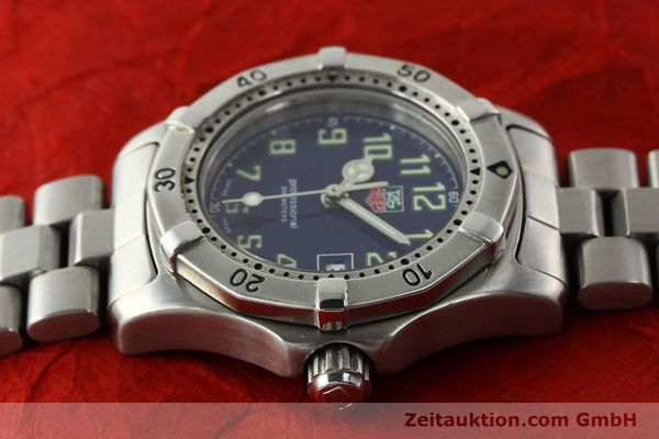 Used luxury watch Tag Heuer Professional steel quartz Kal. ETA 956.112 Ref. WM1313  | 142310 05