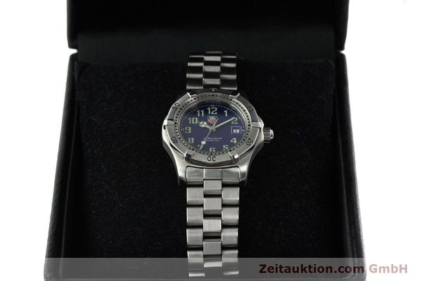Used luxury watch Tag Heuer Professional steel quartz Kal. ETA 956.112 Ref. WM1313  | 142310 07