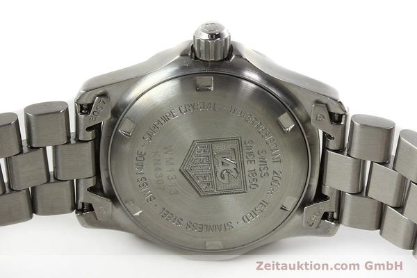 Used luxury watch Tag Heuer Professional steel quartz Kal. ETA 956.112 Ref. WM1313  | 142310 09
