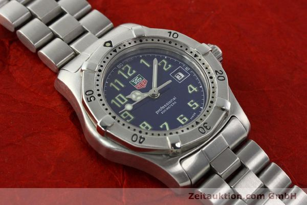 Used luxury watch Tag Heuer Professional steel quartz Kal. ETA 956.112 Ref. WM1313  | 142310 12