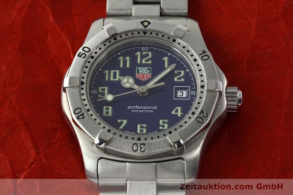 Used luxury watch Tag Heuer Professional steel quartz Kal. ETA 956.112 Ref. WM1313  | 142310 13