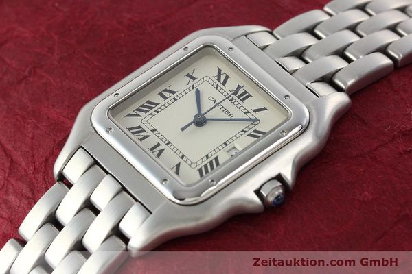 Used luxury watch Cartier Panthere steel quartz Kal. 87.06  | 142312 01