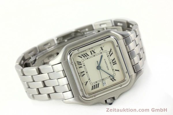Used luxury watch Cartier Panthere steel quartz Kal. 87.06  | 142312 03