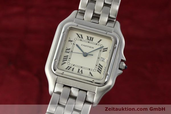 Used luxury watch Cartier Panthere steel quartz Kal. 87.06  | 142312 04