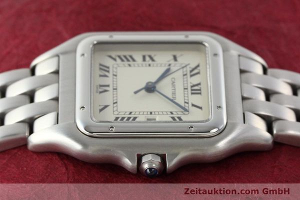 Used luxury watch Cartier Panthere steel quartz Kal. 87.06  | 142312 05