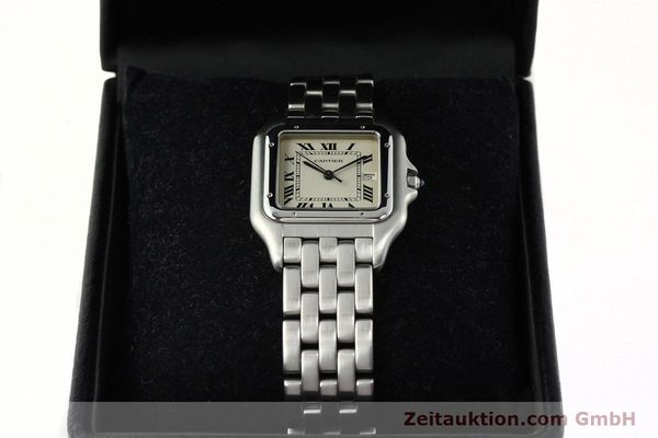 Used luxury watch Cartier Panthere steel quartz Kal. 87.06  | 142312 07