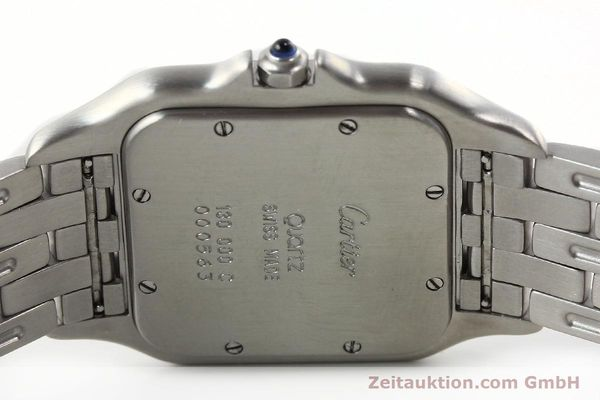 Used luxury watch Cartier Panthere steel quartz Kal. 87.06  | 142312 09