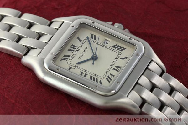 Used luxury watch Cartier Panthere steel quartz Kal. 87.06  | 142312 15