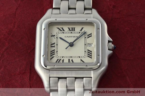 Used luxury watch Cartier Panthere steel quartz Kal. 87.06  | 142312 16