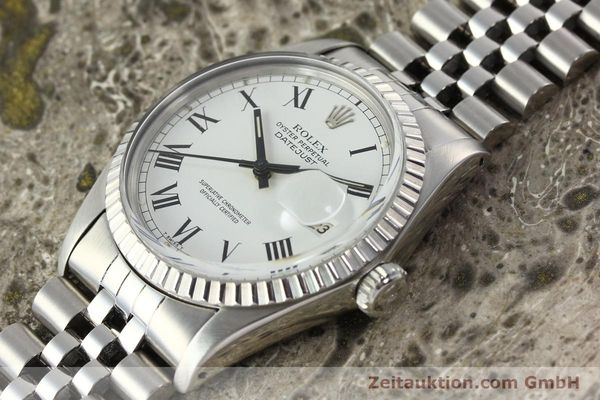 Used luxury watch Rolex Datejust steel automatic Kal. 3035 Ref. 16030  | 142313 01