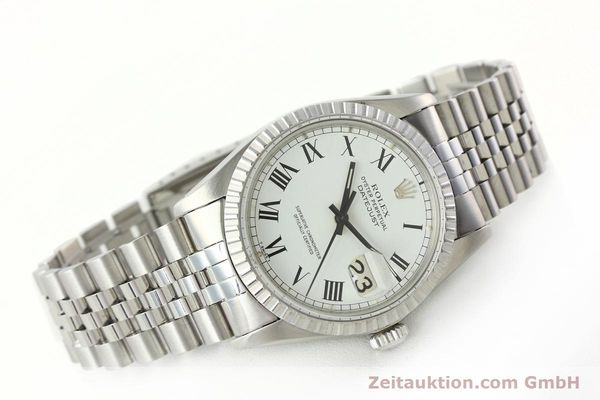 Used luxury watch Rolex Datejust steel automatic Kal. 3035 Ref. 16030  | 142313 03