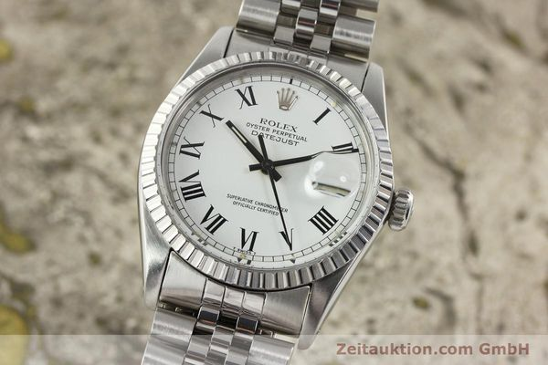 Used luxury watch Rolex Datejust steel automatic Kal. 3035 Ref. 16030  | 142313 04