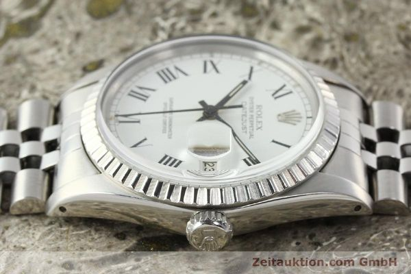 Used luxury watch Rolex Datejust steel automatic Kal. 3035 Ref. 16030  | 142313 05
