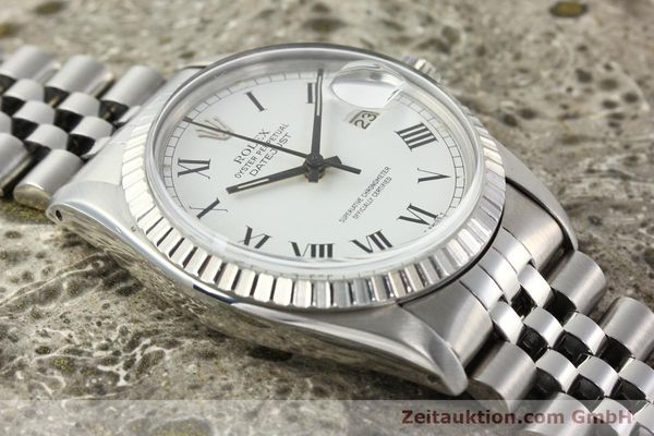 Used luxury watch Rolex Datejust steel automatic Kal. 3035 Ref. 16030  | 142313 13