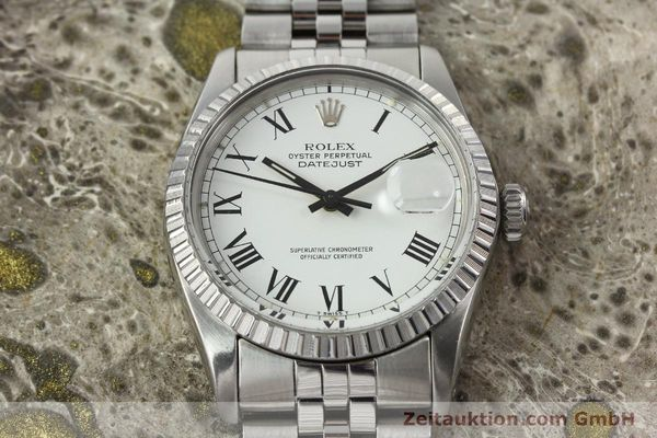 Used luxury watch Rolex Datejust steel automatic Kal. 3035 Ref. 16030  | 142313 14