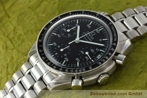 Used luxury watch Omega Speedmaster chronograph steel automatic Kal. 3220 ETA 2892-2  | 142316 01