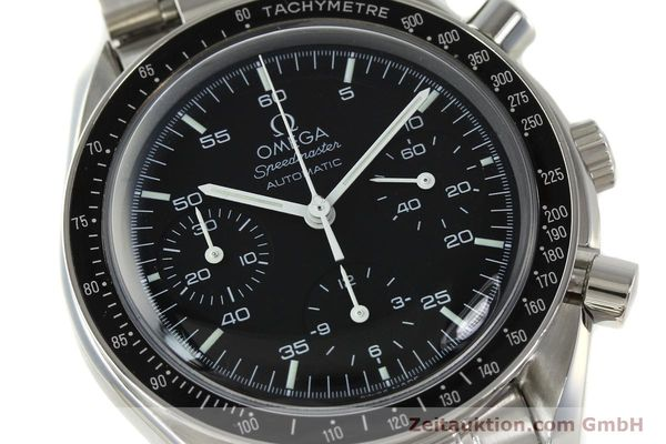 Used luxury watch Omega Speedmaster chronograph steel automatic Kal. 3220 ETA 2892-2  | 142316 02